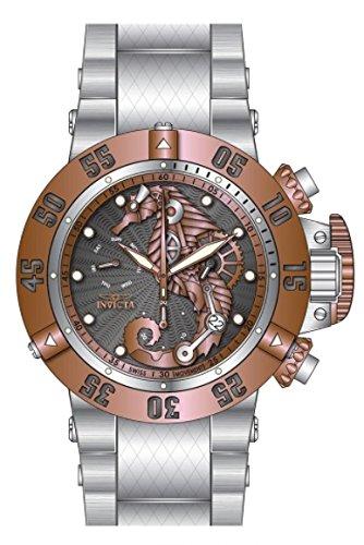 インヴィクタ インビクタ サブアクア 腕時計 メンズ Invicta Men's 26228 Subaqua Quartz 3 Hand Gunmetal, Rose Gold Dial Watchインヴィクタ インビクタ サブアクア 腕時計 メンズ