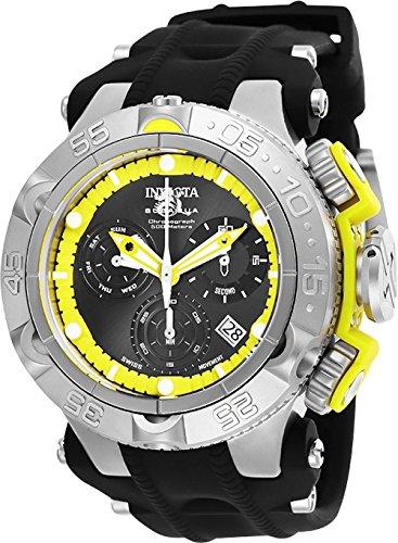 インヴィクタ インビクタ サブアクア 腕時計 メンズ 【送料無料】Invicta Men's Subaqua Stainless Steel Quartz Watch with Silicone Strap, Black, 29 (Model: 25350)インヴィクタ インビクタ サブアクア 腕時計 メンズ