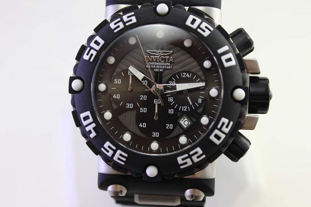 インヴィクタ インビクタ サブアクア 腕時計 メンズ Invicta Men's Subaqua Stainless Steel Quartz Watch with Polyurethane Strap, Black, 34.3 (Model: 25038)インヴィクタ インビクタ サブアクア 腕時計 メンズ