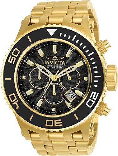インヴィクタ インビクタ サブアクア 腕時計 メンズ 【送料無料】Invicta Subaqua Specialty Mens Quartz 52Mm Gold, Black Case Black Dial - Model 23936インヴィクタ インビクタ サブアクア 腕時計 メンズ