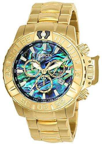 腕時計 インヴィクタ インビクタ サブアクア メンズ 【送料無料】Invicta Men's Subaqua Quartz Watch with Stainless Steel Strap, Gold, 24 (Model: 25098)腕時計 インヴィクタ インビクタ サブアクア メンズ