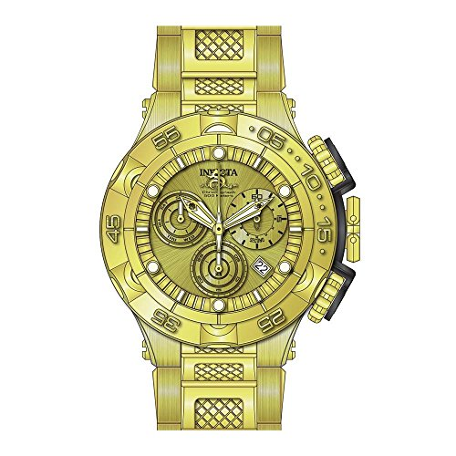 インヴィクタ インビクタ サブアクア 腕時計 メンズ Invicta Men's 26632 Subaqua Quartz Chronograph Gold Dial Watchインヴィクタ インビクタ サブアクア 腕時計 メンズ
