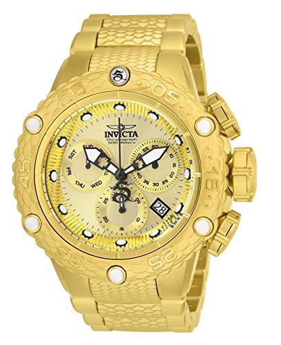 インヴィクタ インビクタ サブアクア 腕時計 メンズ 【送料無料】Invicta Men's Subaqua Quartz Watch with Stainless Steel Strap, Gold, 28.7 (Model: 26648)インヴィクタ インビクタ サブアクア 腕時計 メンズ