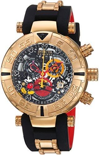 インヴィクタ インビクタ 腕時計 メンズ ディズニー 【送料無料】Invicta Men's 'Disney Limited Edition' Quartz Metal and Silicone Casual Watch, Color:Black (Model: 22734)インヴィクタ インビクタ 腕時計 メンズ ディズニー
