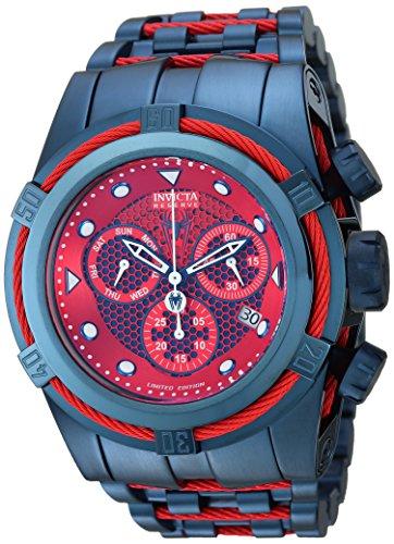 インヴィクタ インビクタ 腕時計 メンズ 【送料無料】Invicta Men's Marvel Quartz Watch with Stainless-Steel Strap, Blue, 26 (Model: 26012)インヴィクタ インビクタ 腕時計 メンズ
