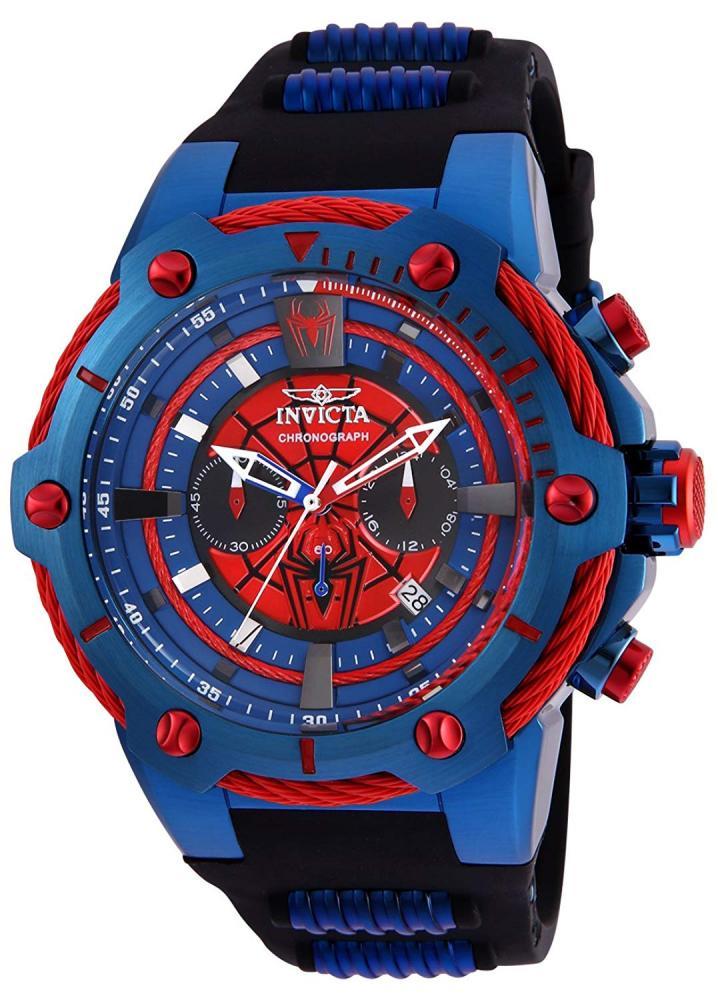 インヴィクタ インビクタ 腕時計 メンズ Invicta Men's Marvel Quartz Watch with Stainless Steel Strap, Black, 30 (Model: 25688インヴィクタ インビクタ 腕時計 メンズ
