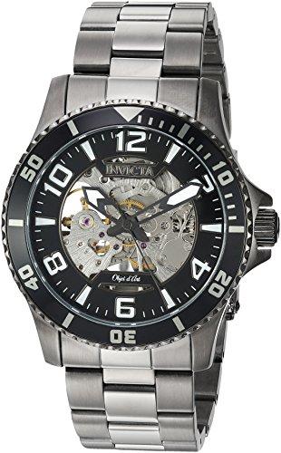 インヴィクタ インビクタ 腕時計 メンズ 【送料無料】Invicta Men's Objet D Art Automatic-self-Wind Watch with Stainless-Steel Strap, Grey, 22 (Model: 22606)インヴィクタ インビクタ 腕時計 メンズ