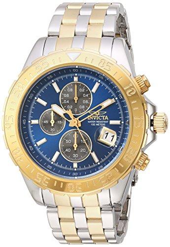 インヴィクタ インビクタ 腕時計 メンズ Invicta Men's Aviator Quartz Watch with Two-Tone-Stainless-Steel Strap, 22 (Model: 22989)インヴィクタ インビクタ 腕時計 メンズ