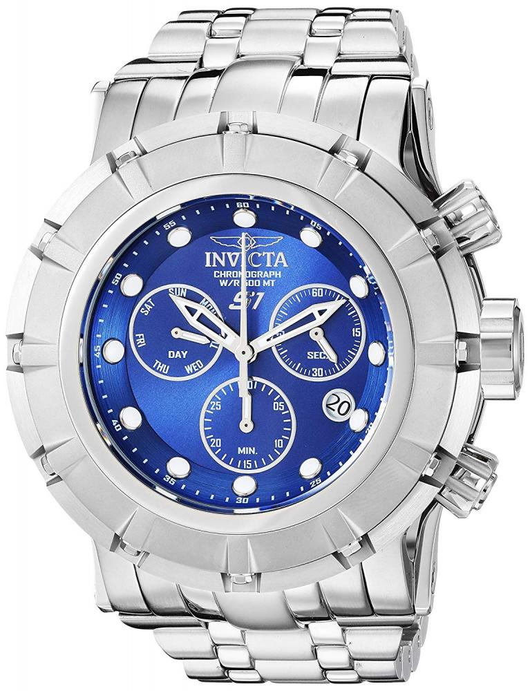 """インヴィクタ インビクタ 腕時計 メンズ 【送料無料】Invicta Men""""s S1 Rally Quartz Watch with Stainless-Steel Strap, Silver, 26 (Model: 23952)インヴィクタ インビクタ 腕時計 メンズ"""