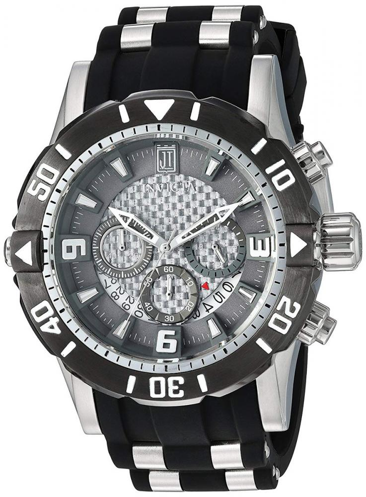インヴィクタ インビクタ 腕時計 メンズ Invicta Men's JT Stainless Steel Quartz Diving Watch with Polyurethane Strap, Grey, 26 (Model: 24167インヴィクタ インビクタ 腕時計 メンズ