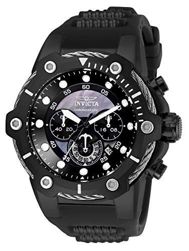 インヴィクタ インビクタ 腕時計 メンズ Invicta Men's Quartz Watch with Stainless Steel Strap, Black, 30 (Model: 26817インヴィクタ インビクタ 腕時計 メンズ
