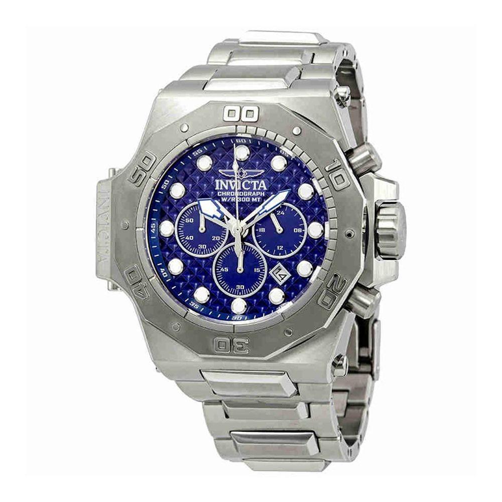 インヴィクタ インビクタ 腕時計 メンズ 【送料無料】Invicta Men's 26039 Akula Quartz Chronograph Blue Dial Watchインヴィクタ インビクタ 腕時計 メンズ
