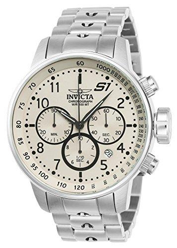 インヴィクタ インビクタ 腕時計 メンズ 【送料無料】Invicta Men's S1 Rally Quartz Watch with Stainless-Steel Strap, Silver, 22 (Model: 23077)インヴィクタ インビクタ 腕時計 メンズ