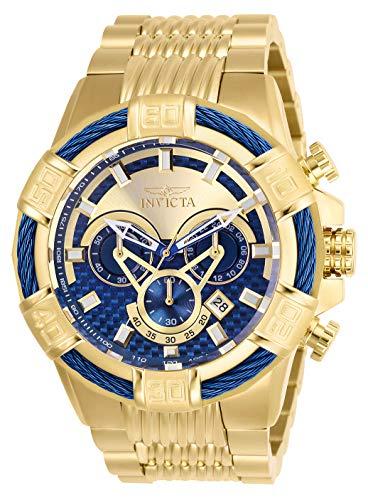 インヴィクタ インビクタ ボルト 腕時計 メンズ 【送料無料】Invicta Men's Bolt Quartz Watch with Stainless-Steel Strap, Gold, 30 (Model: 27062)インヴィクタ インビクタ ボルト 腕時計 メンズ