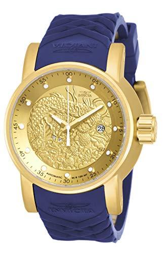 インヴィクタ インビクタ 腕時計 メンズ 【送料無料】Invicta Men's S1 Rally Stainless Steel Automatic-self-Wind Watch with Silicone Strap, Blue, 24 (Model: 18215)インヴィクタ インビクタ 腕時計 メンズ