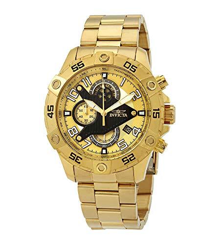 インヴィクタ インビクタ 腕時計 メンズ 【送料無料】Invicta Men's 26098 S1 Rally Quartz Multifunction Gold Dial Watchインヴィクタ インビクタ 腕時計 メンズ