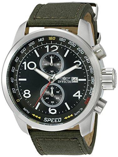 インヴィクタ インビクタ 腕時計 メンズ Invicta Men's 19409SYB Aviator Stainless Steel Watch with Nylon Strapインヴィクタ インビクタ 腕時計 メンズ