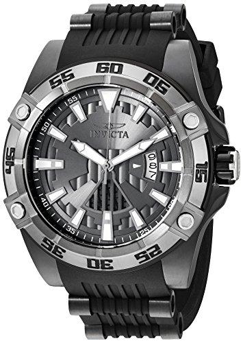 インヴィクタ インビクタ 腕時計 メンズ 【送料無料】Invicta Men's Star Wars Stainless Steel Automatic-self-Wind Watch with Silicone Strap, Black, 26 (Model: 26523)インヴィクタ インビクタ 腕時計 メンズ