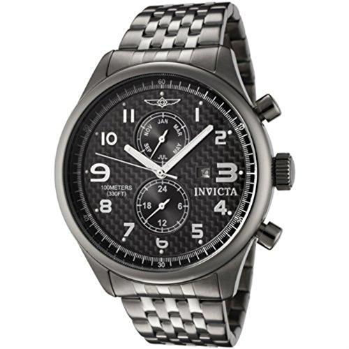 インヴィクタ インビクタ 腕時計 メンズ Invicta Men's 0368 II Collection Gunmetal Ion-Plated Stainless Steel Date Watchインヴィクタ インビクタ 腕時計 メンズ