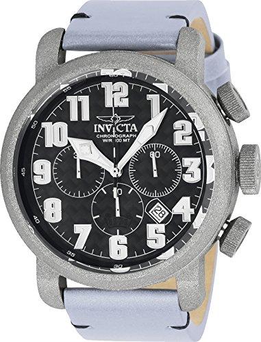 腕時計 インヴィクタ インビクタ メンズ 【送料無料】Invicta Men's 23092 Aviator Quartz 3 Hand Black Dial Watch腕時計 インヴィクタ インビクタ メンズ