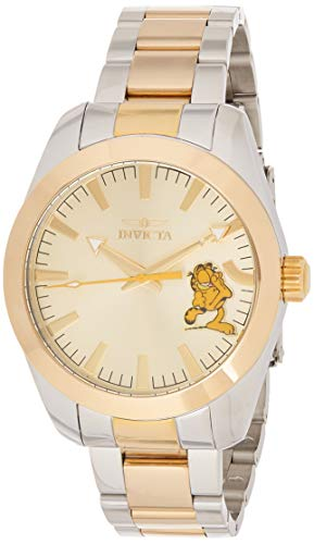 インヴィクタ インビクタ 腕時計 メンズ 【送料無料】Invicta Men's Character Collection Quartz Watch with Two-Tone-Stainless-Steel Strap, 19.3 (Model: 25162)インヴィクタ インビクタ 腕時計 メンズ