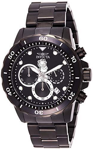 インヴィクタ インビクタ 腕時計 メンズ Invicta Men's Garfield Collection Quartz Watch with Stainless-Steel Strap, Black, 22 (Model: 25149)インヴィクタ インビクタ 腕時計 メンズ