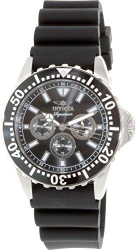 インヴィクタ インビクタ 腕時計 メンズ 【送料無料】Invicta Signature II Divers Multi-Function Black Dial Mens Watch 7437インヴィクタ インビクタ 腕時計 メンズ