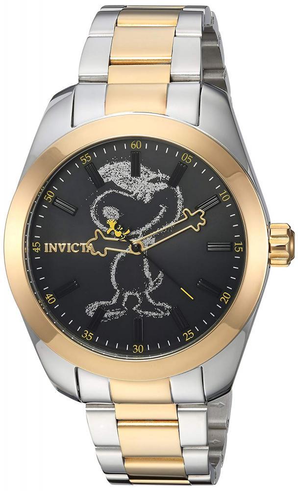インヴィクタ インビクタ 腕時計 メンズ Invicta Men's Character Collection Quartz Watch with Stainless-Steel Strap, Two Tone, 20 (Model: 24937インヴィクタ インビクタ 腕時計 メンズ