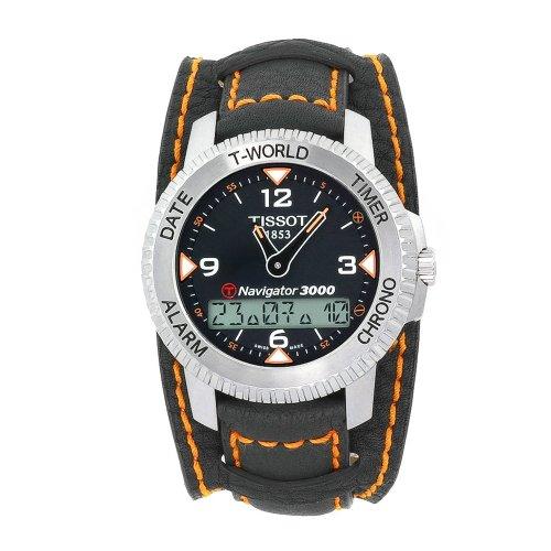 ティソ 腕時計 メンズ T96146832 Tissot Men's T96146832 T-Tactile Navigator 3000 Grey Cuff Watchティソ 腕時計 メンズ T96146832