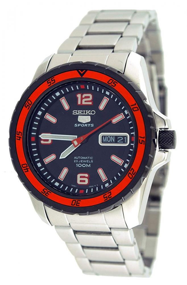 セイコー 腕時計 メンズ Seiko SNZG73 Seiko 5 Automatic Stainless Steel Watchセイコー 腕時計 メンズ