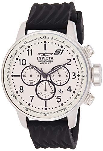 インヴィクタ インビクタ 腕時計 メンズ 【送料無料】Invicta Men's S1 Rally Stainless Steel Quartz Watch with Silicone Strap, Black, 22 (Model: 23810)インヴィクタ インビクタ 腕時計 メンズ
