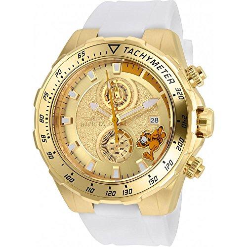 インヴィクタ インビクタ 腕時計 メンズ Invicta Men's Character Collection Stainless Steel Quartz Watch with Silicone Strap, White, 26 (Model: 25159)インヴィクタ インビクタ 腕時計 メンズ
