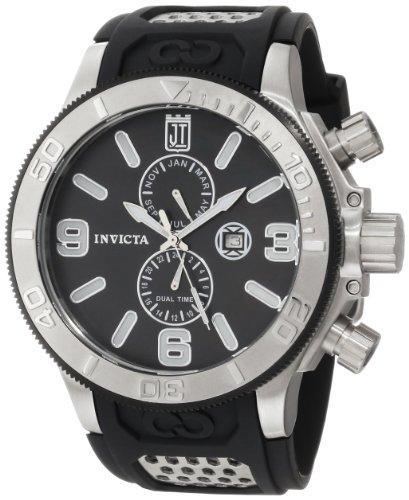Taylor Collection for Invicta Mother-Of-Pearl Black Polyurethane Dial インヴィクタ メンズ インビクタ インヴィクタ メンズ Black 【送料無料】Jason 13687 インビクタ Watch腕時計 腕時計