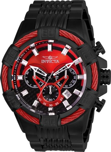 インヴィクタ インビクタ ボルト 腕時計 メンズ Invicta Men's Bolt Analog Quartz Watch with Stainless Steel Strap, Black, 30 (Model: 27063)インヴィクタ インビクタ ボルト 腕時計 メンズ