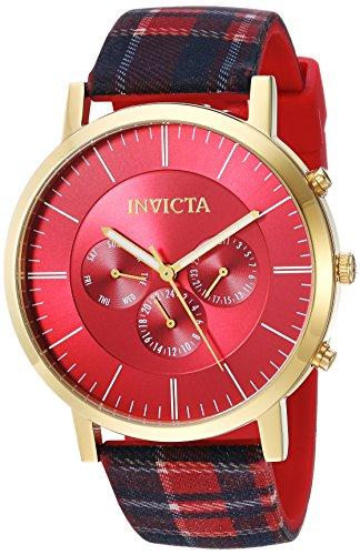 インヴィクタ インビクタ 腕時計 メンズ 【送料無料】Invicta Men's Specialty Stainless Steel Quartz Watch with Silicone Strap, Multi, 20.5 (Model: 20079)インヴィクタ インビクタ 腕時計 メンズ