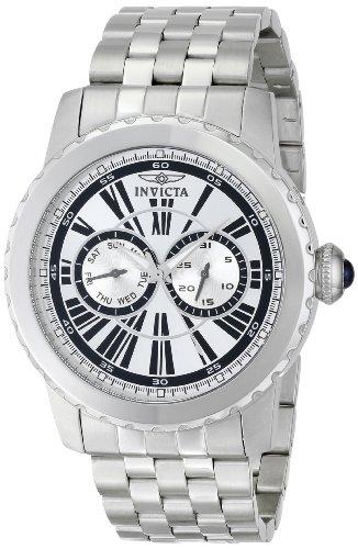 インヴィクタ インビクタ 腕時計 メンズ Invicta Men's 14586 Specialty Analog Display Swiss Quartz Silver Watchインヴィクタ インビクタ 腕時計 メンズ