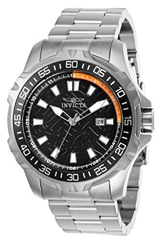 【送料無料】Invicta プロダイバー 腕時計 Silver, メンズ (Model: Men's Quartz プロダイバー インビクタ 25784)腕時計 インビクタ Strap, Diver インヴィクタ Steel Pro 24 インヴィクタ with Watch メンズ Stainless