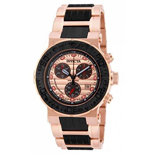インヴィクタ インビクタ 腕時計 メンズ Invicta Men's 16864 Ocean Reef Quartz Chronograph Black, Rose Gold Dial Watchインヴィクタ インビクタ 腕時計 メンズ