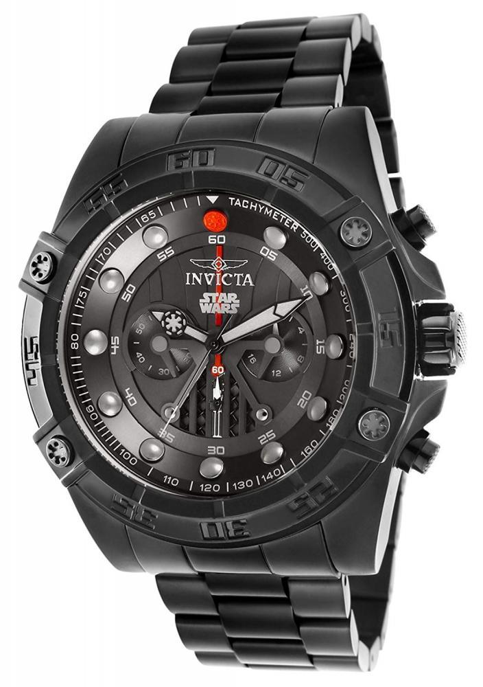 インヴィクタ インビクタ 腕時計 メンズ 【送料無料】'Invicta Men's 'Star Wars' Quartz Stainless Steel Casual Watch, Color:Black (Model: 26497)インヴィクタ インビクタ 腕時計 メンズ