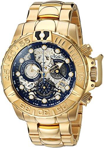 インヴィクタ インビクタ 腕時計 メンズ 【送料無料】Invicta Men's Connection Quartz Watch with Stainless-Steel Strap, Gold, 24 (Model: 24772)インヴィクタ インビクタ 腕時計 メンズ