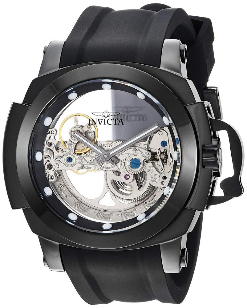 インヴィクタ インビクタ フォース 腕時計 メンズ Invicta Men's Coalition Forces Stainless Steel Automatic-self-Wind Watch with Silicone Strap, Black, 26 (Model: 26291)インヴィクタ インビクタ フォース 腕時計 メンズ