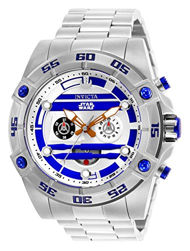 インヴィクタ インビクタ 腕時計 メンズ 【送料無料】Invicta Men's Star Wars Quartz Watch with Stainless-Steel Strap, Silver, 26 (Model: 26518)インヴィクタ インビクタ 腕時計 メンズ
