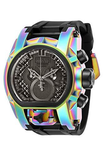 インヴィクタ インビクタ リザーブ 腕時計 メンズ 【送料無料】Invicta Men's Reserve Stainless Steel Quartz Watch with Silicone Strap, Black, 34 (Model: 25609)インヴィクタ インビクタ リザーブ 腕時計 メンズ