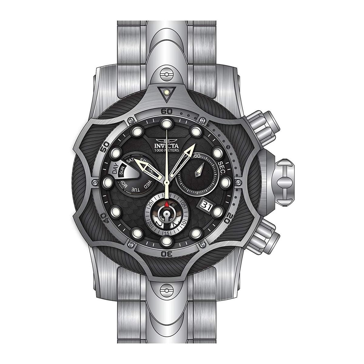 インヴィクタ インビクタ リザーブ 腕時計 メンズ Invicta Reserve Chronograph Black Dial Mens Watch 26650インヴィクタ インビクタ リザーブ 腕時計 メンズ