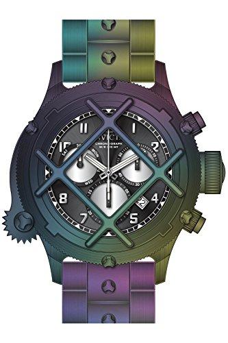 インヴィクタ インビクタ 腕時計 メンズ 【送料無料】Invicta Men's 26587 Russian Diver Quartz Chronograph Black, Silver Dial Watchインヴィクタ インビクタ 腕時計 メンズ