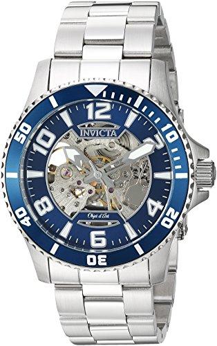 インヴィクタ インビクタ 腕時計 メンズ Invicta Men's Objet D Art Automatic-self-Wind Watch with Stainless-Steel Strap, Silver, 22 (Model: 22603)インヴィクタ インビクタ 腕時計 メンズ