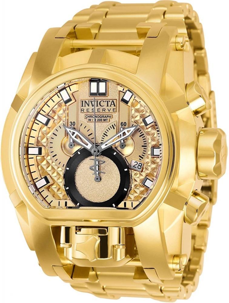インヴィクタ インビクタ ボルト 腕時計 メンズ 25210 INVICTA Bolt Men 52mm Stainless Steel Gold + Stainless Steel Titanium dial 5040.D Quartzインヴィクタ インビクタ ボルト 腕時計 メンズ