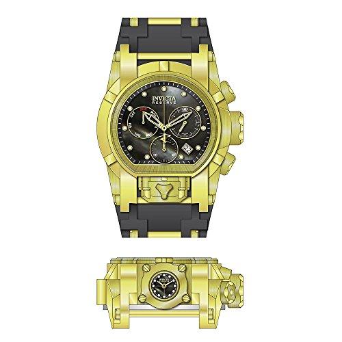 インヴィクタ インビクタ リザーブ 腕時計 メンズ 【送料無料】Invicta Men's Reserve Stainless Steel Quartz Watch with Silicone Strap, Two Tone, 34 (Model: 26713)インヴィクタ インビクタ リザーブ 腕時計 メンズ
