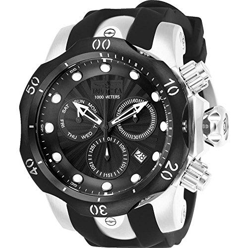 インヴィクタ インビクタ ベノム 腕時計 メンズ 【送料無料】Invicta Men's 25900 Venom Quartz Chronograph Black Dial Watchインヴィクタ インビクタ ベノム 腕時計 メンズ