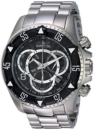 インヴィクタ インビクタ 腕時計 メンズ 【送料無料】Invicta Men's Excursion Quartz Watch with Stainless-Steel Strap, Silver, 26 (Model: 24261)インヴィクタ インビクタ 腕時計 メンズ